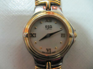 Classic Ladies Swiss Made EsquireMovado Watch XCondCirca 1990s