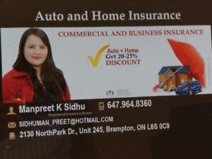Auto insurance-High risk/New/home owners-Best raes