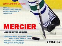 Ligue de hockey adultes MERCIER