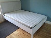 Double bed & mattress (EU SIZE)