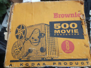 Brownie movie projector