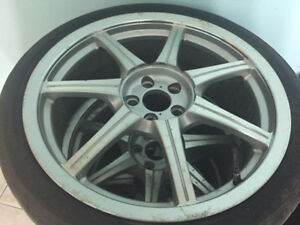 Rim and tires Sport. 225.35.18