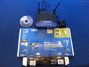 Linksys Router - WRT54G