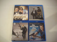 Les 23 films de JAMES BOND 14 blu ray, 9 DVD