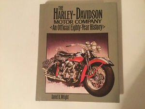The Harley-Davidson Motor Company Official Eighty-year History