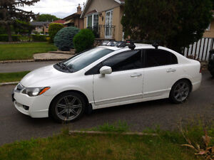2009 Acura CSX Sedan with sunroof