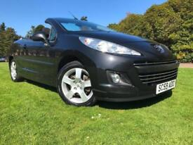 *6 MTHS WARRANTY*2009(09)PEUGEOT 207 1.6 SPORT CONVERTIBLE WITH 67K*