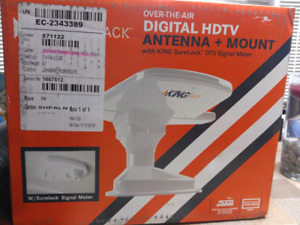 King jack Digital hd tv for RV