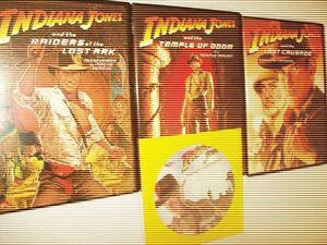 "Indiana Jones Trilogy ""The Adventure Collection"" DVD Box Set"