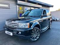 Land Rover Range Rover Sport 3.6TD V8 auto HSE Black **£££ OF EXTRA'S - DVD's**