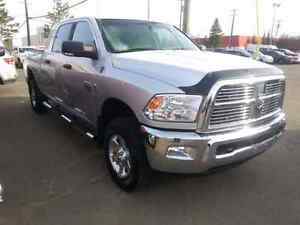 2012 Dodge Power Ram 2500 SLT + Pickup Truck 4x4 Cummins Silver