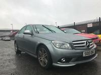Mercedes-Benz C200 2.1TD AUTOMATIC 2008 AMG SPORT - HEATED LEATHER - PARKING AID