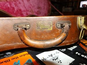 1950s vintage lifton Gibson case for thinline Gibson guitars