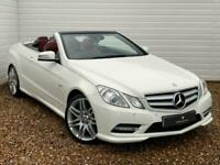 2012 Mercedes-Benz E Class E350 CDI BlueEFFICIENCY [265] Sport 2dr Tip Auto CONV