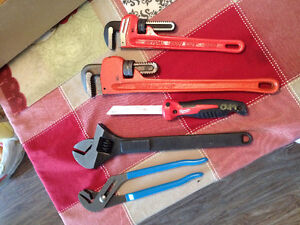 Plumbing wrenches