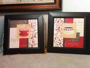 Decorative Kitchen Prints (Pair)