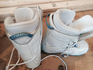 Women's firefly size 10 snowboard boots