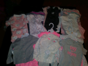 Baby girls size 12 months Carters