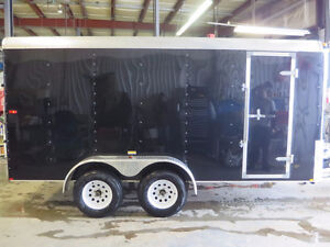 NEW 2015 TNT 7X14ft ENCLOSED TRAILER w/Ramp $5,999.00