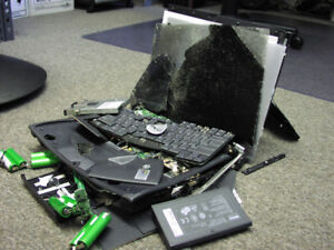 Need broken laptop ps3 xbox...electronic related