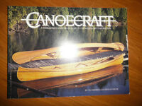 Canoecraft Fine Woodstrip Contruction Guide Book by Ted Moores