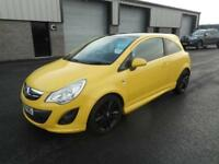 VAUXHALL CORSA LIMITED EDITION 3 DOOR MANUAL PETROL 61 PLATE