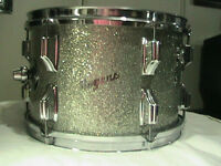 "ROGERS Holiday Mid 60'S""Cleveland"" 12""X8""tom*Glass/Glitter/PearL"