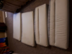 For sale clean dinette cushions