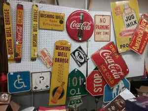 Nostalgia signs, tins just in at One Of A Kind Antique  Peterborough Peterborough Area image 2