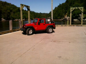 2009 Jeep Wrangler JK, only 85000kms, soft top, good condition