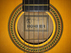 Hohner #HG1N Wooden Guitar (Korea) North Shore Greater Vancouver Area image 7