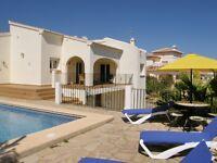 Villa for rent Moraira, Spain 3 bed sleeps 6
