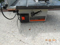 "8"" Black and Decker Table Saw"