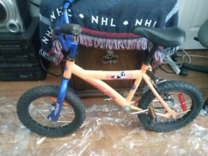 small childs bike for sale also a larger girls bike for sale