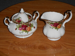 """Royal Albert """"Old Country Roses"""" Coffee Set"""