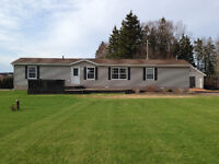 Mini home on 1.46 acres 15 min west of Charlottetown
