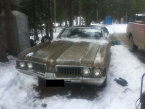 1969 Olds Cutlass Supreme Ragtop - Runs and Drives - Project Car