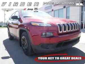 2017 Jeep Cherokee Sport **REMOTE START!! CLOTH SEATS!!**