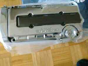 Chromed Honda b series valve cover