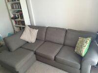Left hand Corner sofa DFS