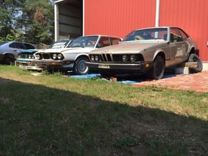 Selling used parts for older BMW cars from 1972 to 2001