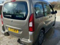2013 Peugeot Partner 1.6 E-HDI TEPEE S 5d 92 BHP MPV Diesel Semi Automatic