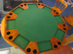 Poker table top for 8