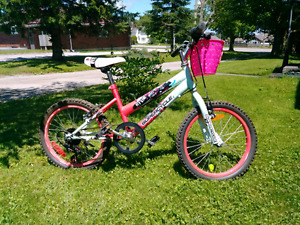"""Girls 18"""" bike."""