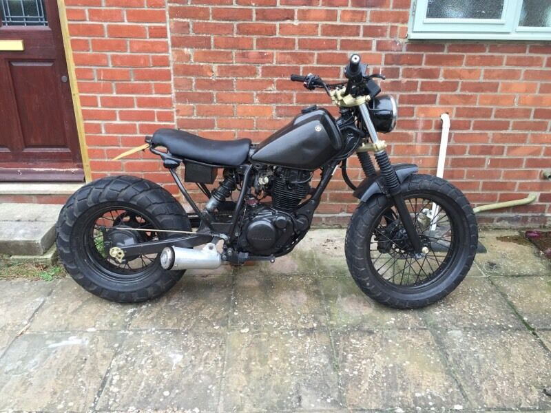 yamaha tw 125 custom in ipswich suffolk gumtree. Black Bedroom Furniture Sets. Home Design Ideas
