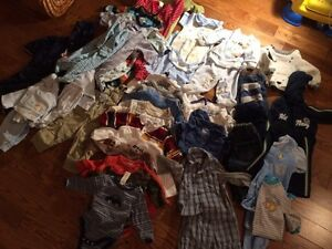 Baby boy winter clothing 3-6 months lot