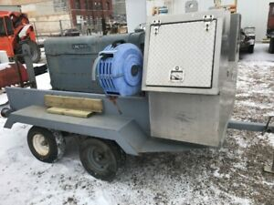 Lincoln 200 Welder - including trailer