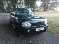 2006 Land Rover Range Rover KHAN PROJECT BLACK.3.0 Td6 VOGUE 4dr Auto ESTATE Di
