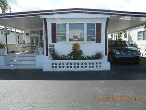 MAISON MOBILE RÉNOVÉE (HALLANDALE BEACH, FLORIDE