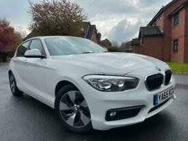 image for BMW 116D EFFICIENT DYNAMIC PLUS MANUAL 2016 WHITE SAT NAV PARKING SENSORS 2 KEYS